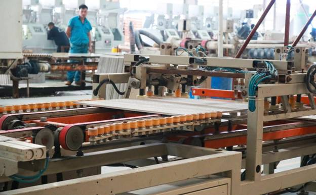 Ứng dụng của dây Pepson trong ngành gạch men