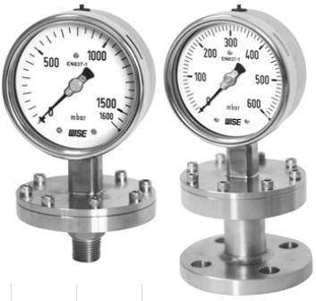 Đồng hồ đo áp suất Wise kiểu màng