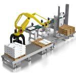 Robot xep bao – xếp hàng hóa lên pallet