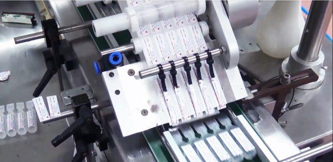 May dan nhãn ống thuốc cho ngành dược phẩm - HuynhPhuongAutomation